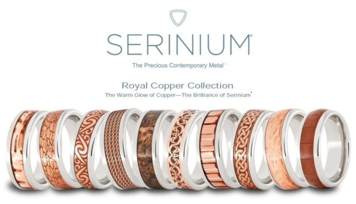 Serinium® and Copper Jewelry