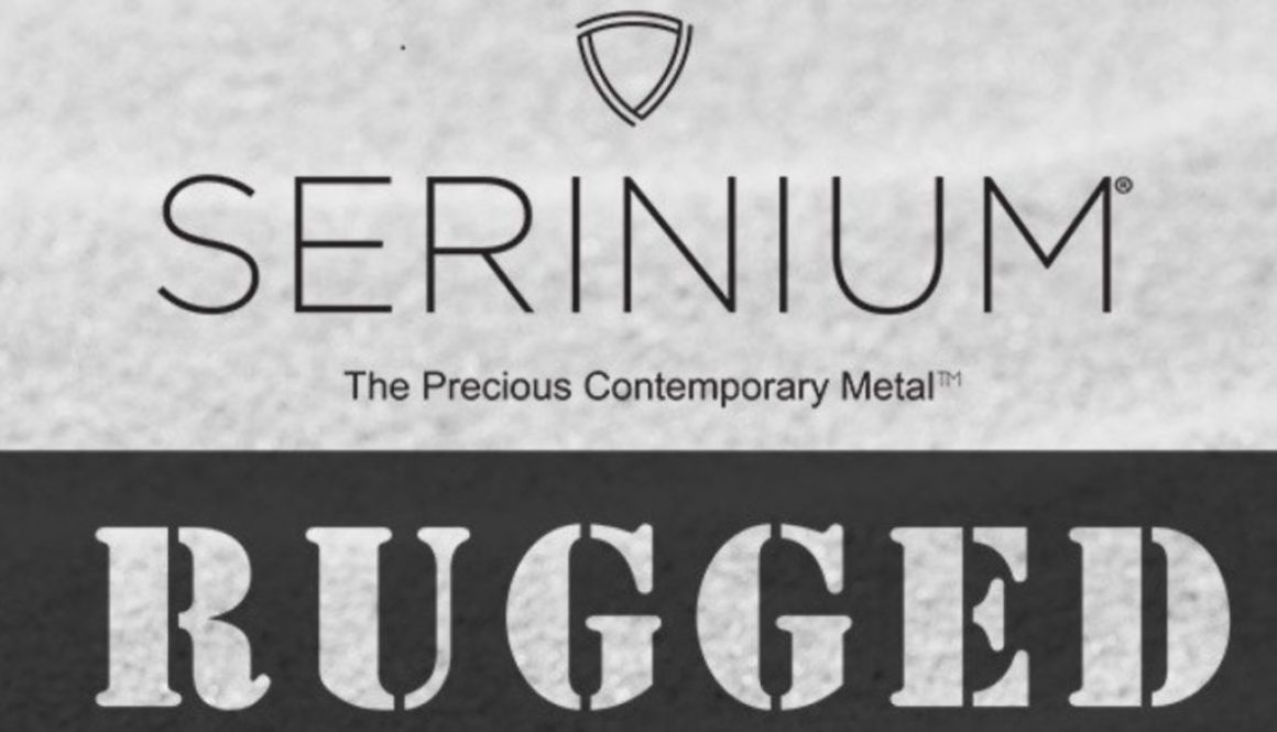 Rugged Serinium® Wedding Rings