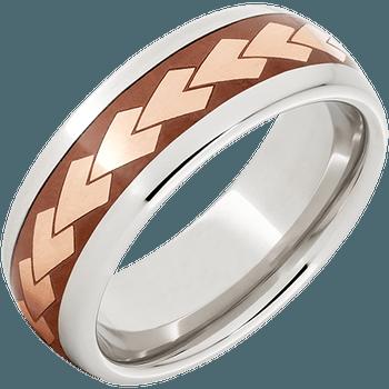 Serinium® Domed Band Copper