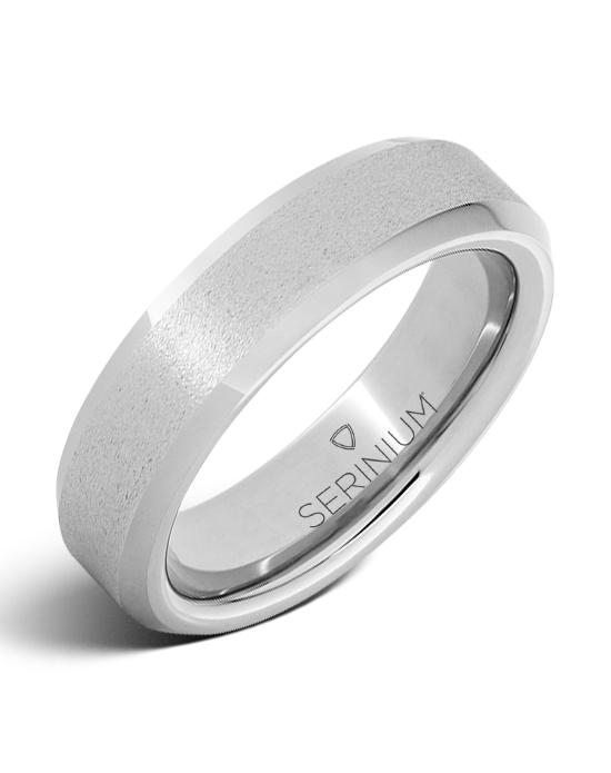 Rugged Stone — Slim Serinium® Ring