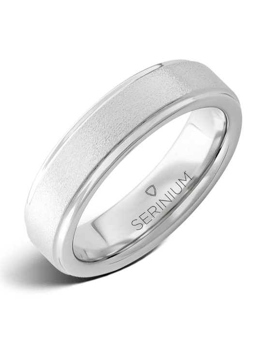 Stonepiper Slim — Stone Finish Serinium® Ring