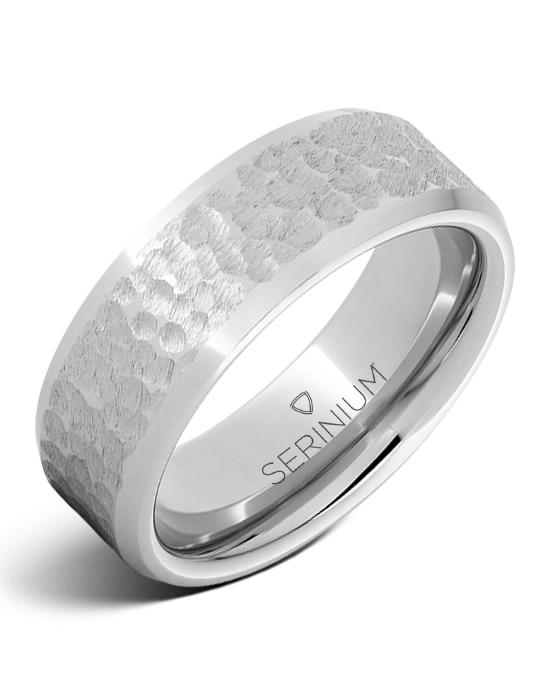 Lunare — Moon Pattern Serinium® Ring