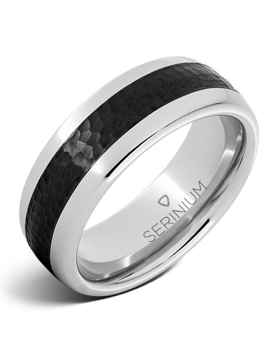 Cobblestone — Black Ceramic ™ Serinium® Ring