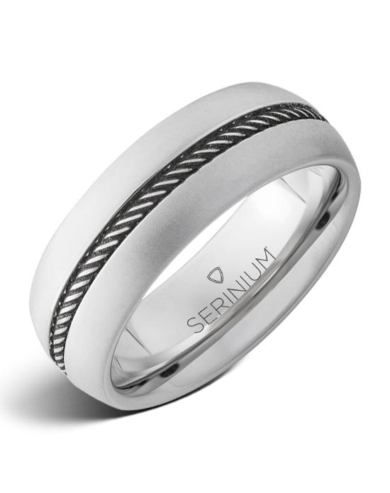 Roundup — Rope Engraved Serinium® Ring