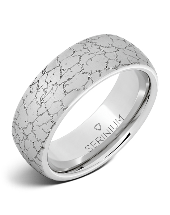 Matrix Dome — Engraved Serinium® Ring