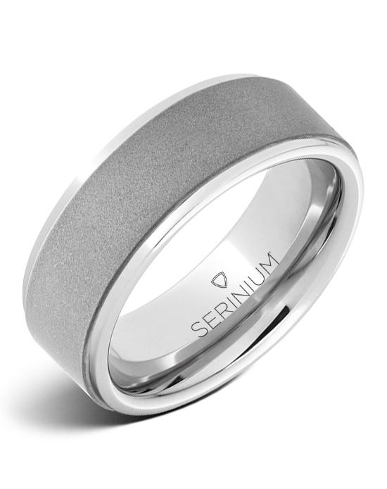 Buff — Sandblast Finish  Serinium® Ring
