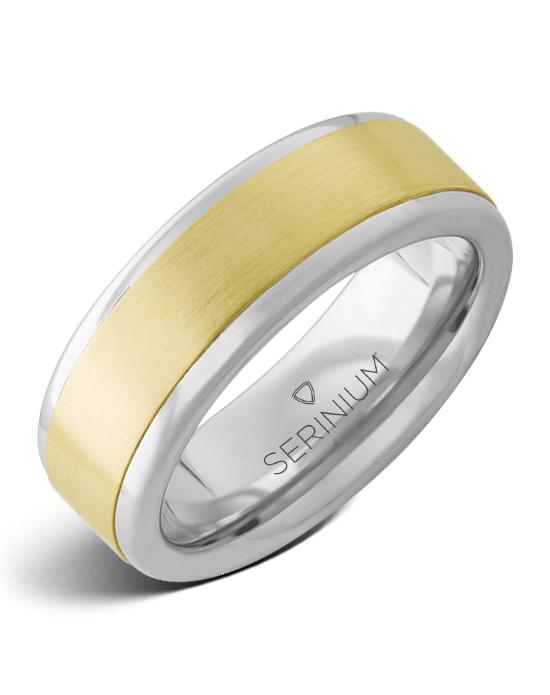 Cancun — Serinium® and 14k Yellow Gold Ring