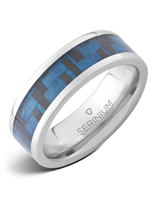 Cyber Blue — Blue High Tech Serinium® Ring