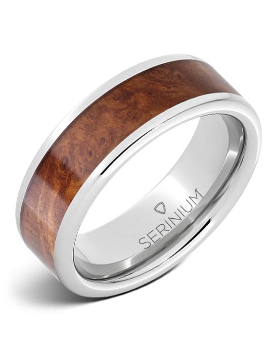 Masterpiece — Burlwood Inlay Serinium® Ring
