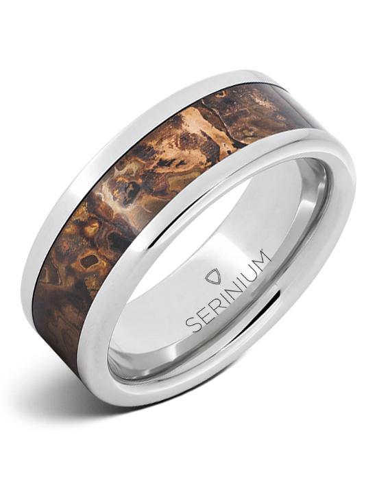 Mycenae – Royal Copper™ Serinium® Inlay Ring
