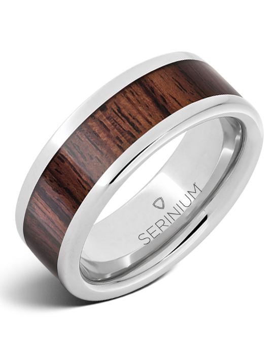 Yachtsman — Serinium® Kingwood Inlay Ring