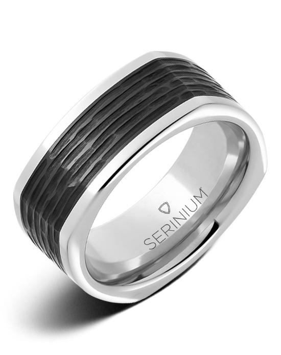 Cubist — Serinium® and Black Ceramic™ Ring