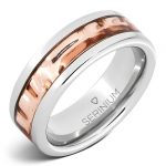8mm Serinium® band inlayed with Copper design RMSA005946 MSRP $615