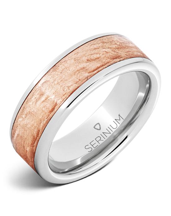 Craftsman — Copper Inlay Serinium® Ring