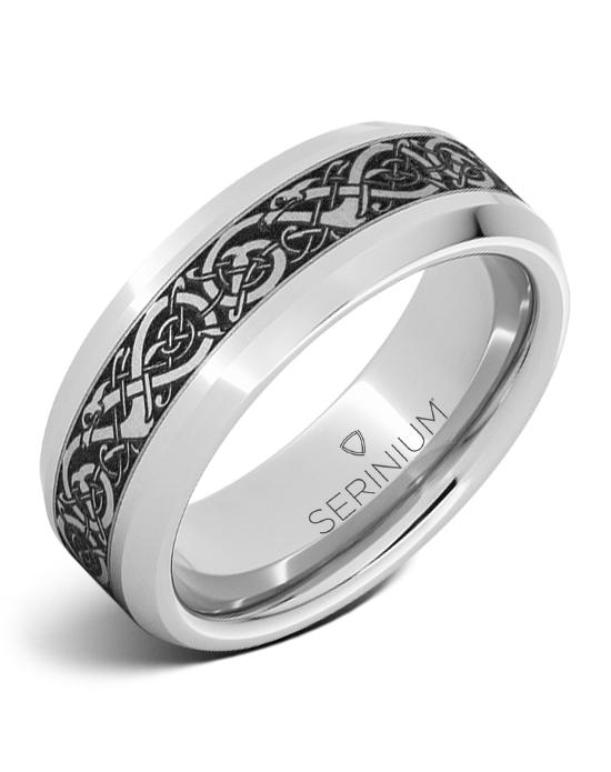 Viking Chieftain — Engraved Serinium® Ring