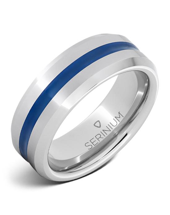 Thin Blue Line — Serinium® Ring