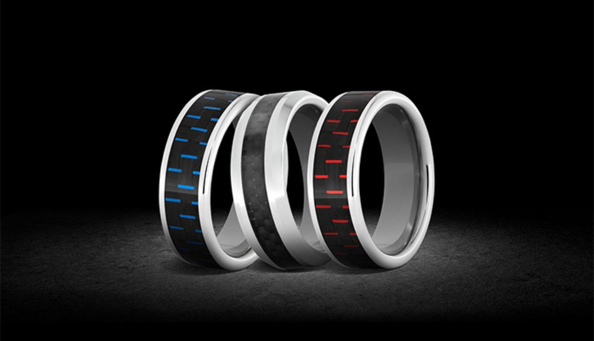 Carbon Fiber Serinium rings