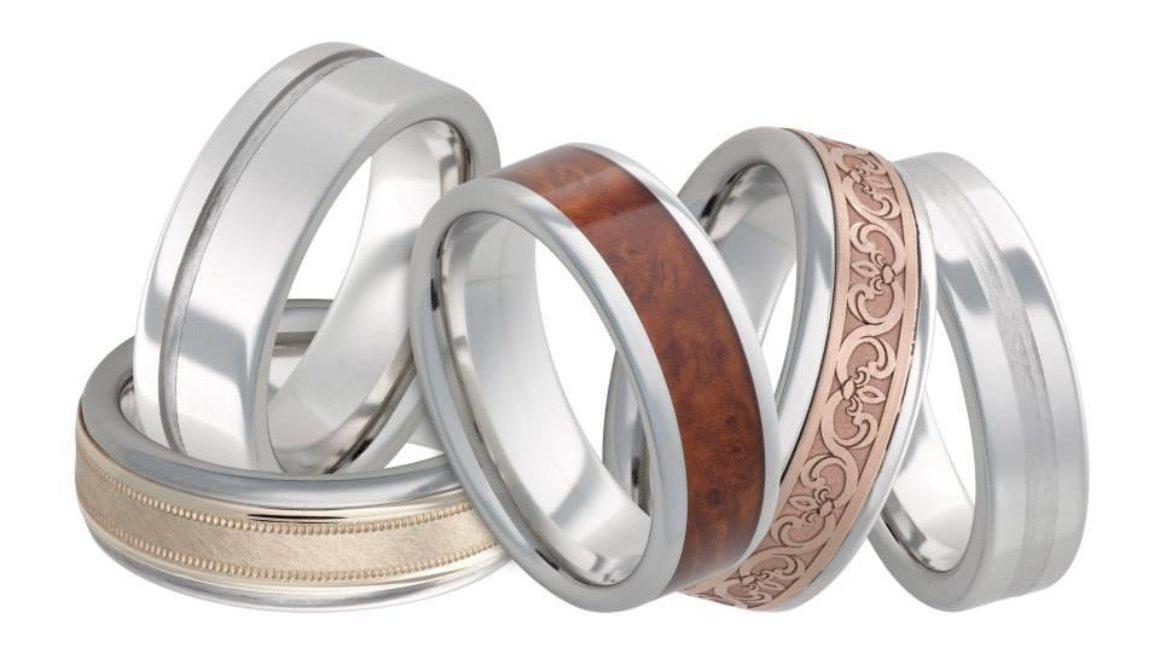 serinium metal ring collection