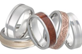 serinium metal ring collection