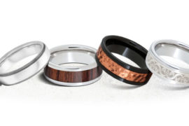 Classic Grooms Wedding Bands