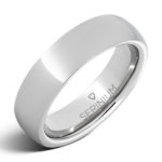 serinium slim wedding band